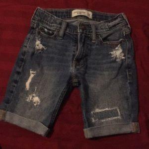 Boys 5/6 Abercrombie jean shorts